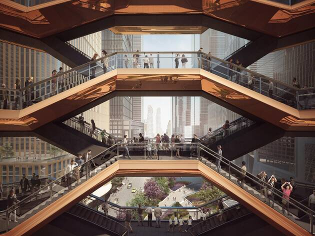 Here's what to see at Hudson Yards