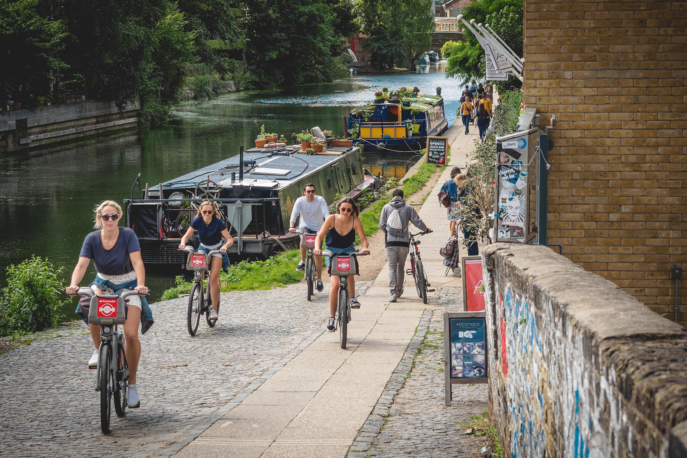 Regents Canal walk, Haggerston