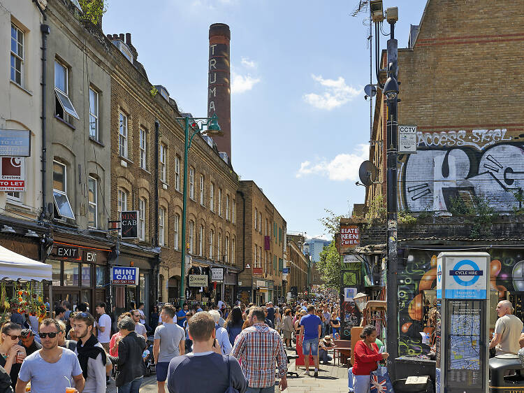 The City and Spitalfields