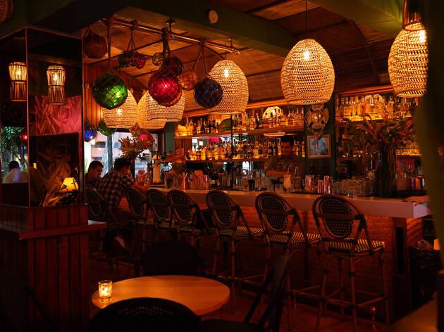 Waikiki Tiki Room, un bar tiki en la Condesa con cocteles exóticos