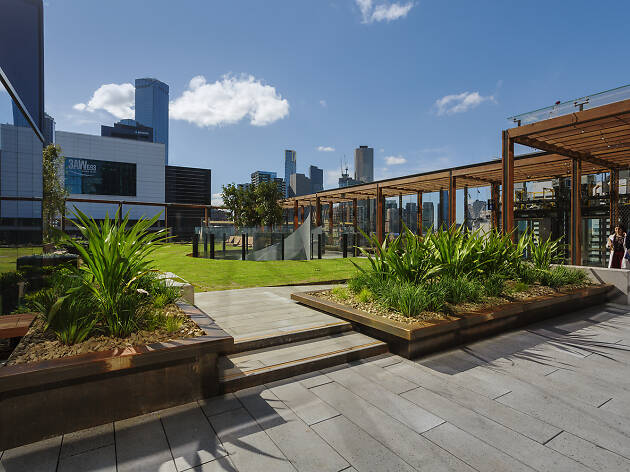 Melbourne is now home to an inner-city park on a rooftop