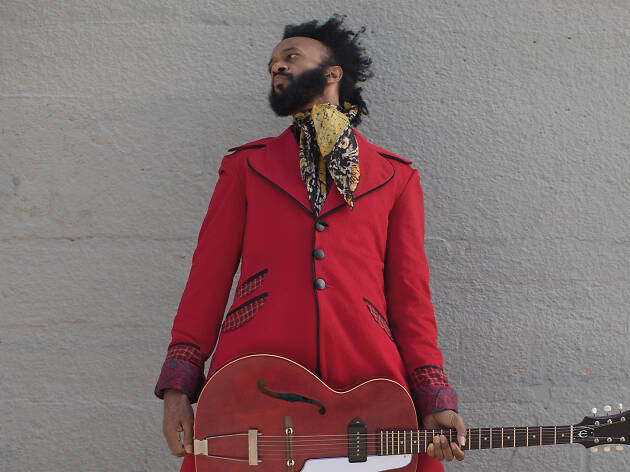 Press shot of musician Fantastic Negrito
