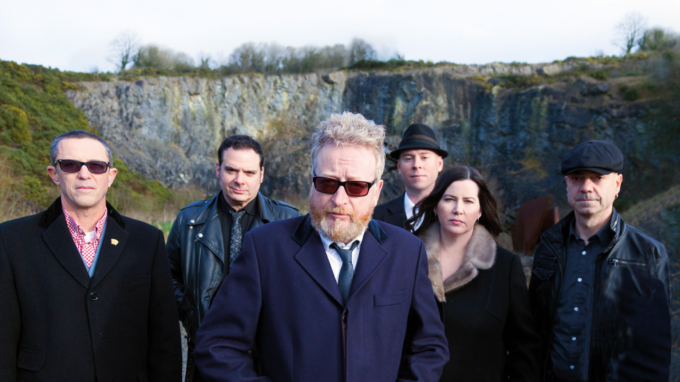 Press shot of band Flogging Molly