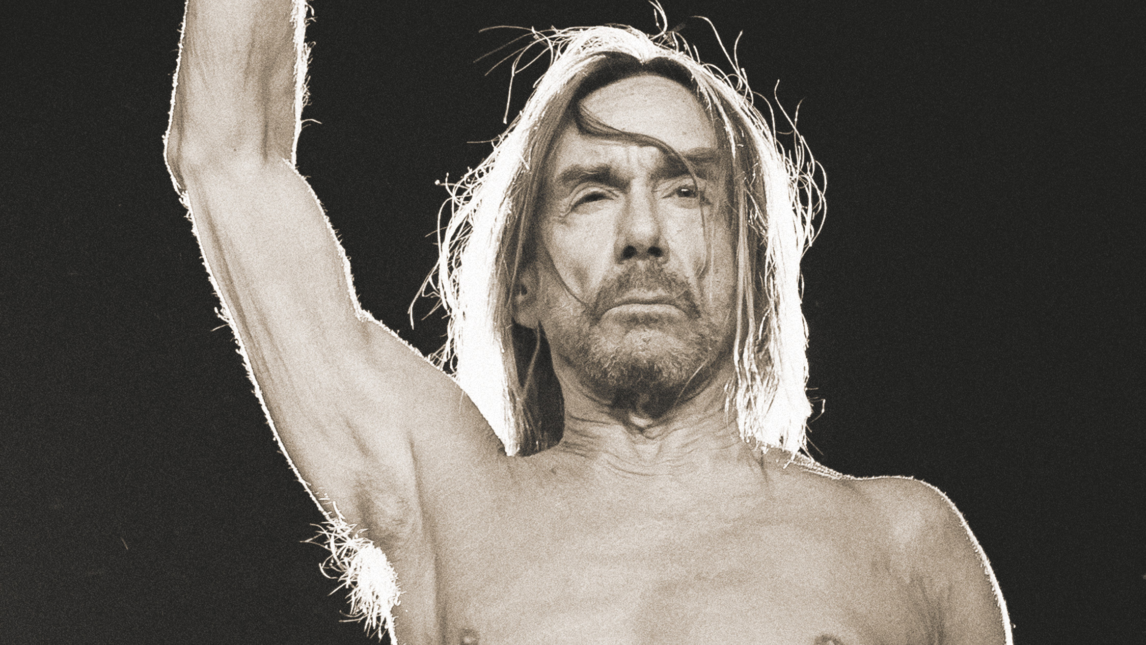 Press shot of Iggy Pop