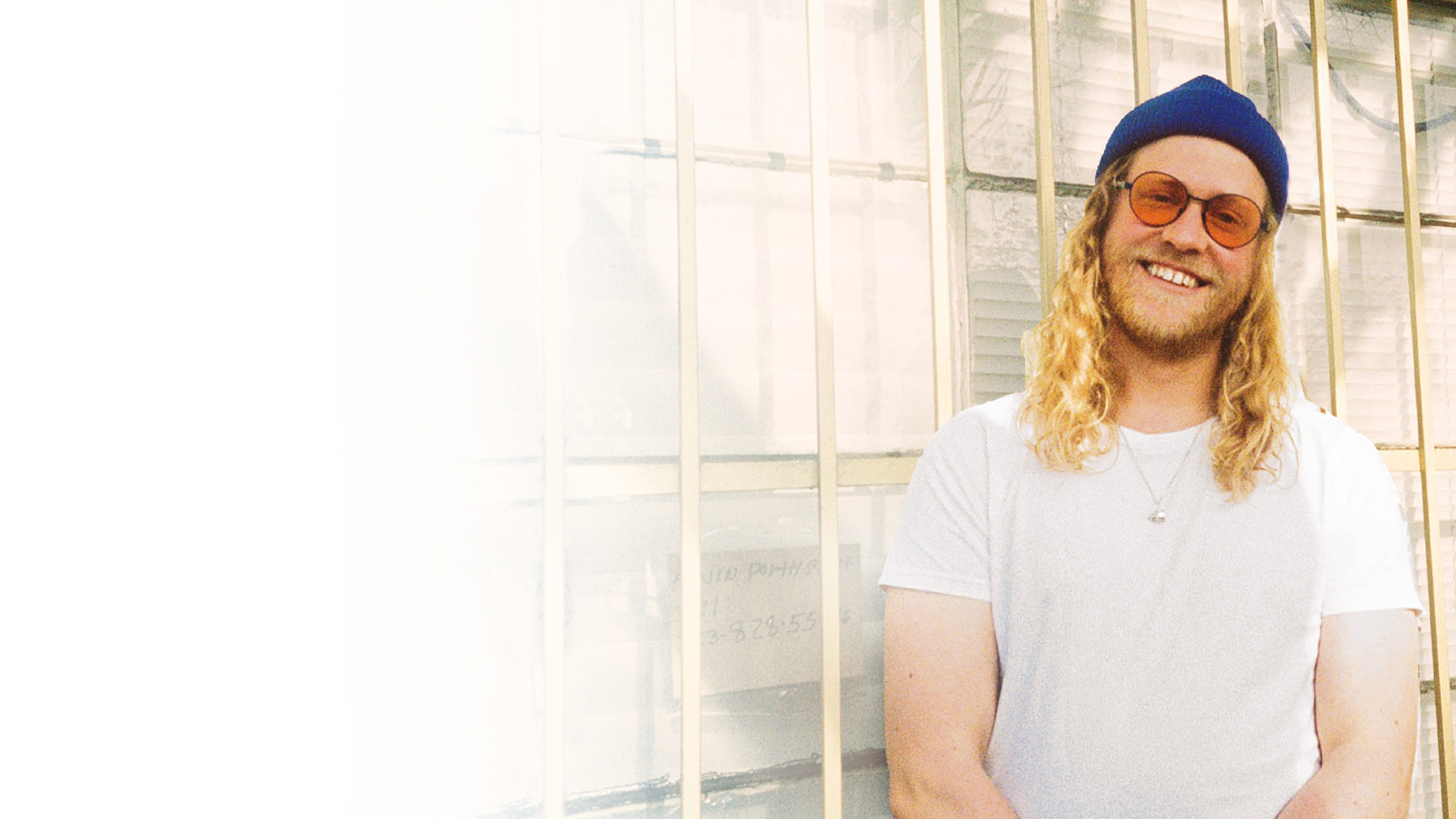 Press shot of musician Allen Stone