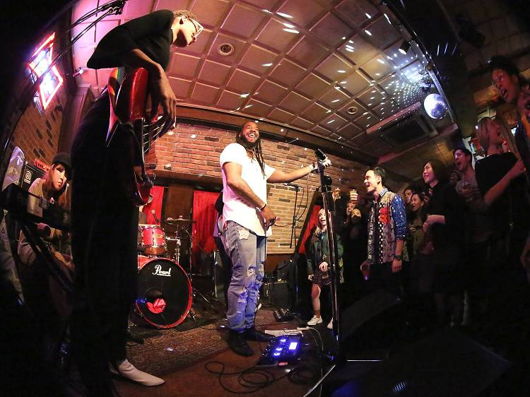 Catch a live gig at the Ruby Room
