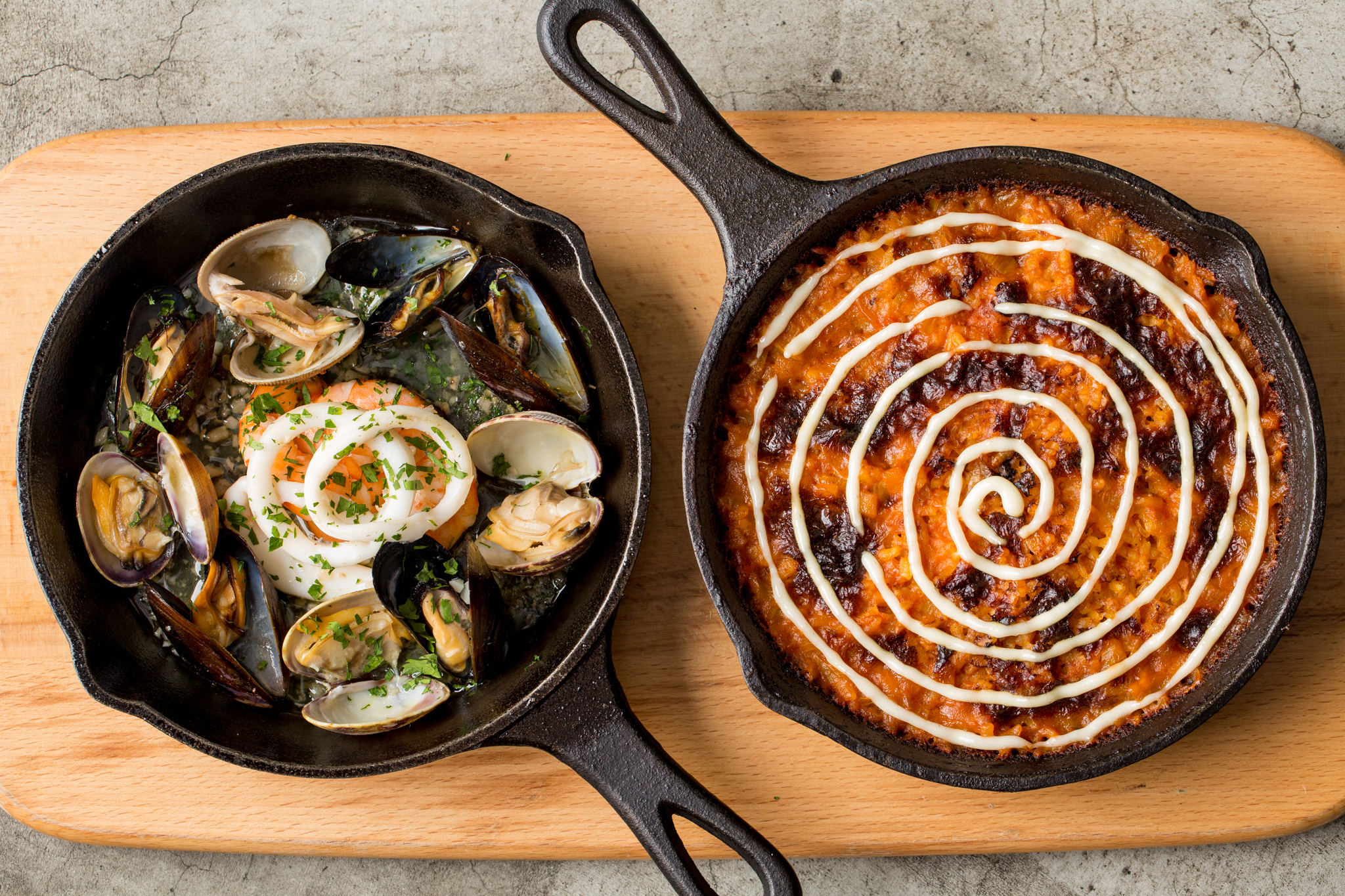 The Optimist - Seafood Charcoal Baked Rice