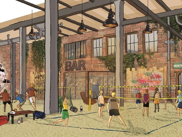 Sand Fabrik : le premier complexe de sports sur sable francilien ouvrira au printemps prochain!