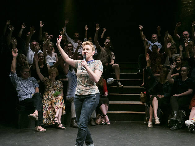 Every Brilliant Thing Belvoir 2019 feat Kate Mulvany