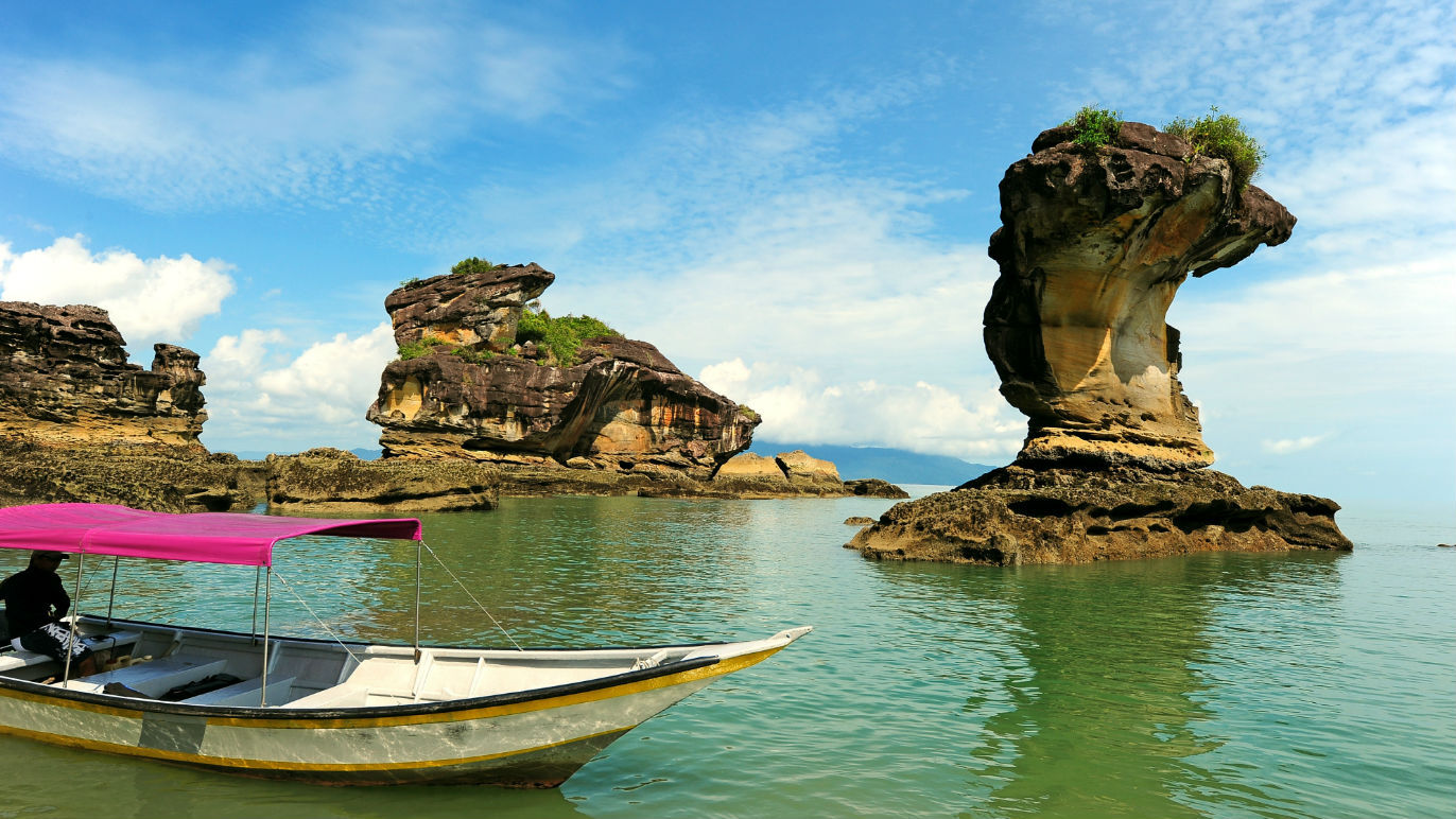 Natural wonders of East Malaysia