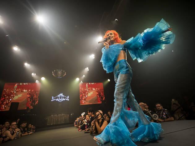 Bhenji Ra at Sissy Ball in Sydney