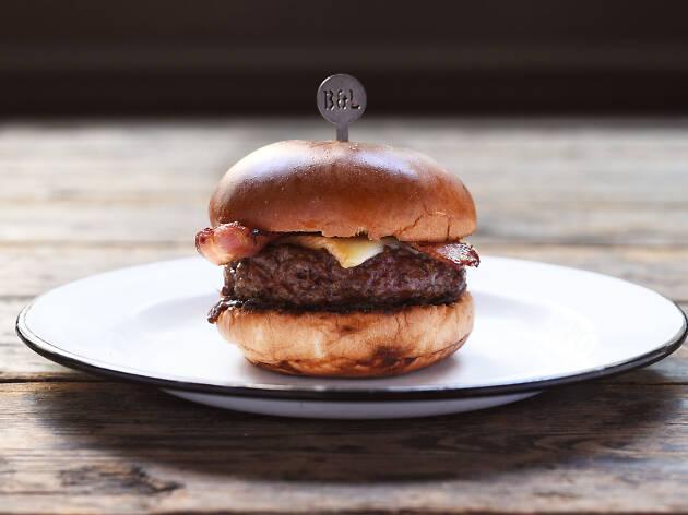 Beef & Liberty Bacon and Cheeseburger