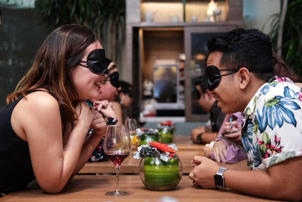 Here's what went down at Time Out and GaiGai's Find Me A Blind Date event