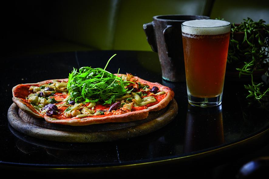 The Very Best Vegan Pizza in Tel Aviv