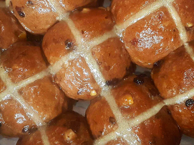 Hot cross buns Black Star Pastry