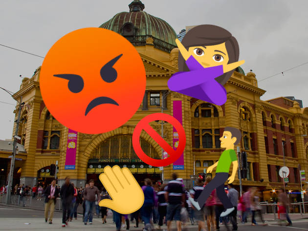 Melbourne Pedestrians