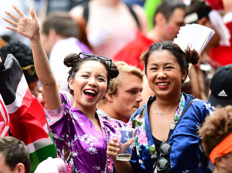 Join in the revelry at Sevens Central