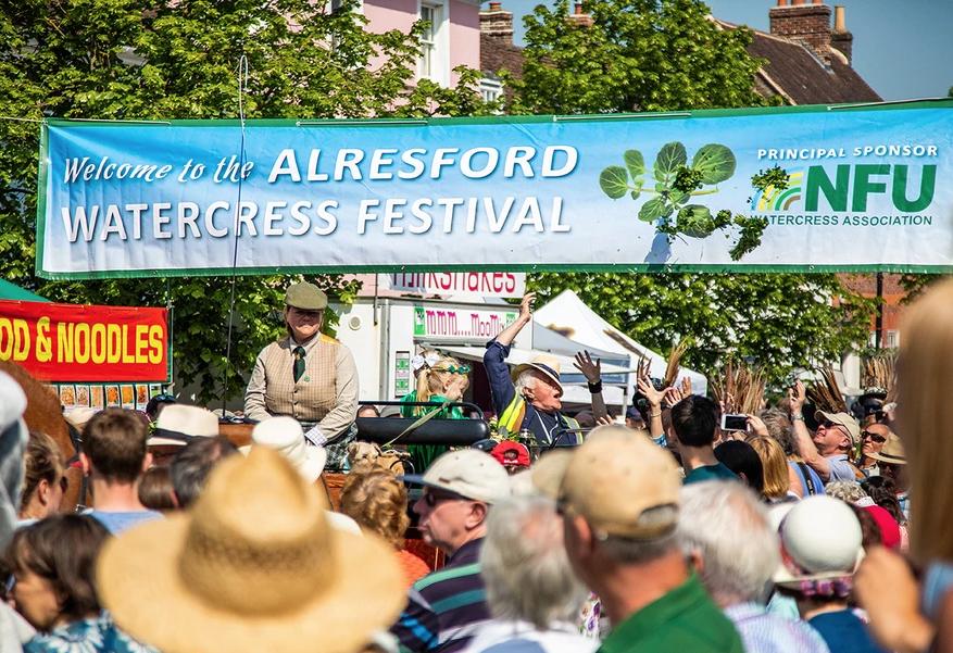 Alresford Watercress Festival, UK