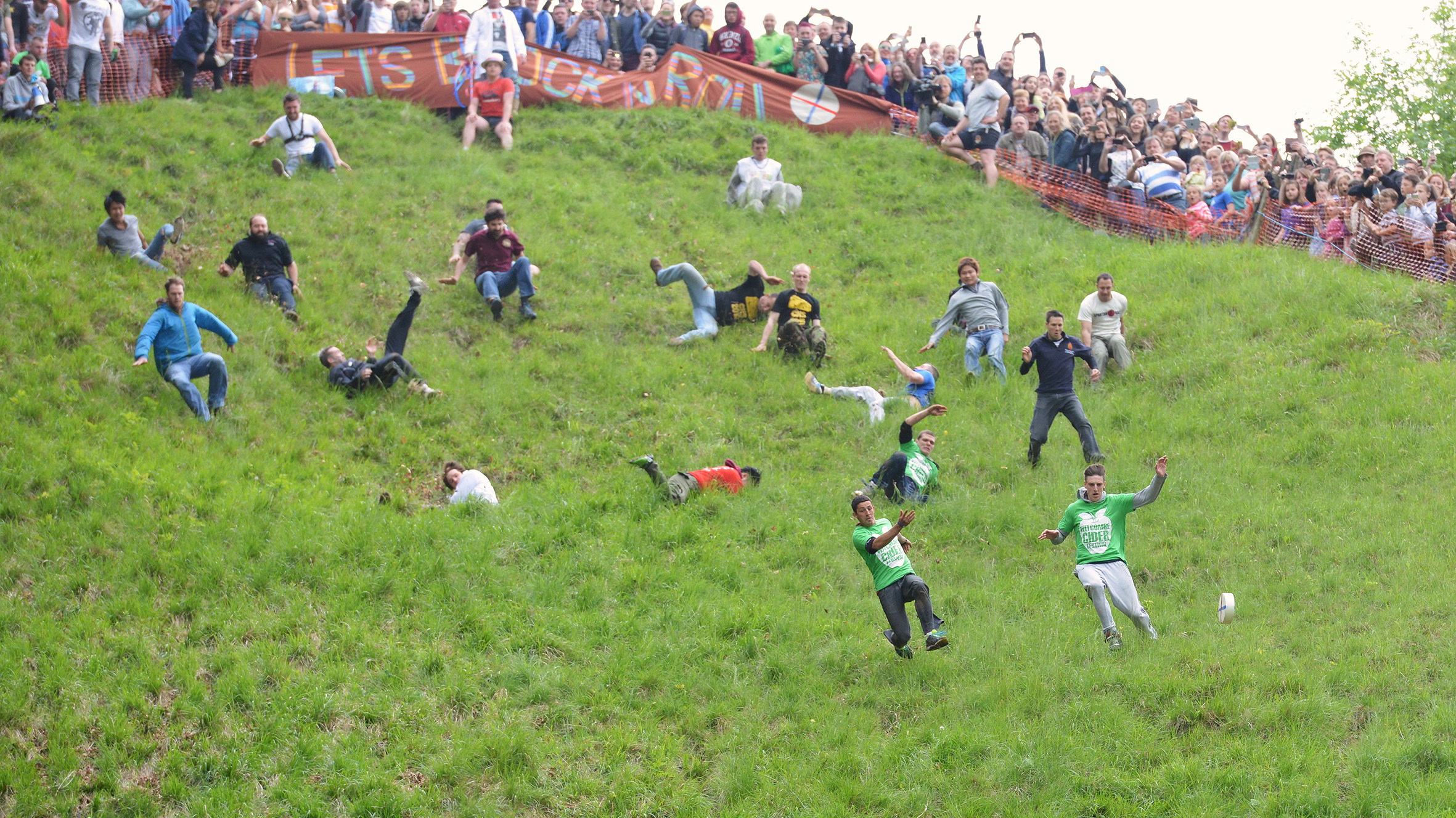 The Cheese Rolling Festival