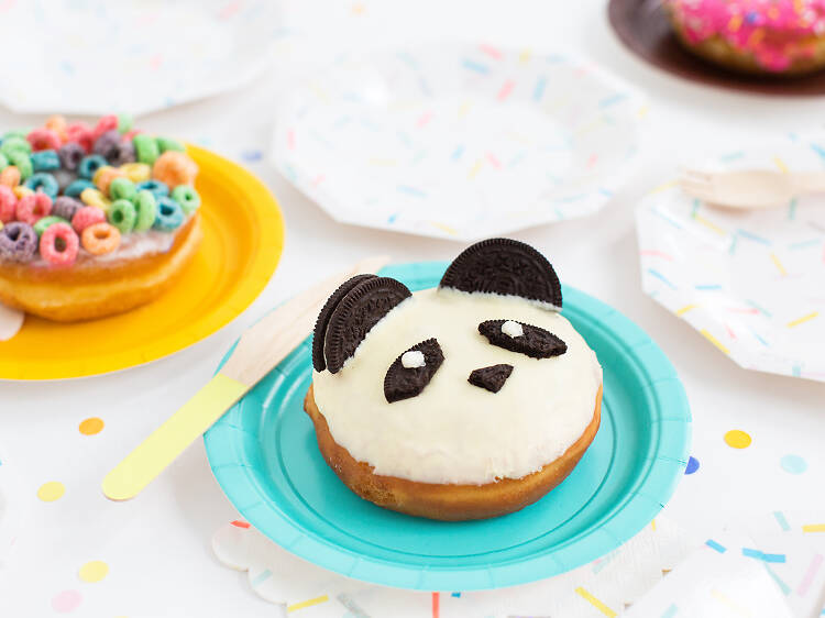 Order dessert that's (almost) too cute to eat at California Donuts