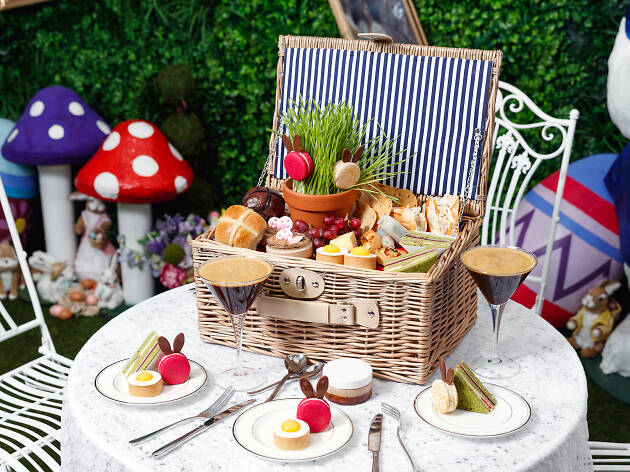 Hop down to Shangri-La Hotel for Easter high tea and garden cocktails