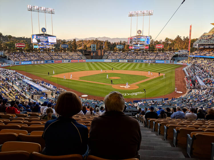 Cheer on the Boys in Blue at Dodger Stadium