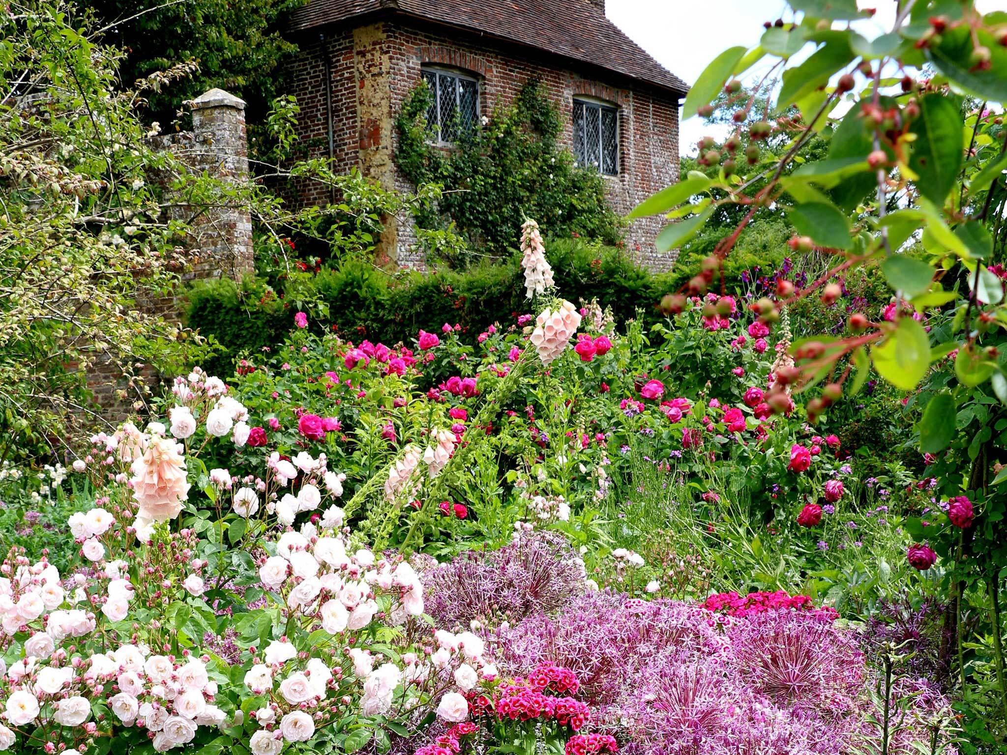 Flowers at Sissinghurst Castle