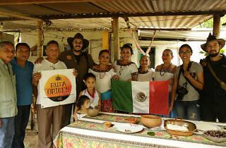 Ruta del maíz en Xochimilco