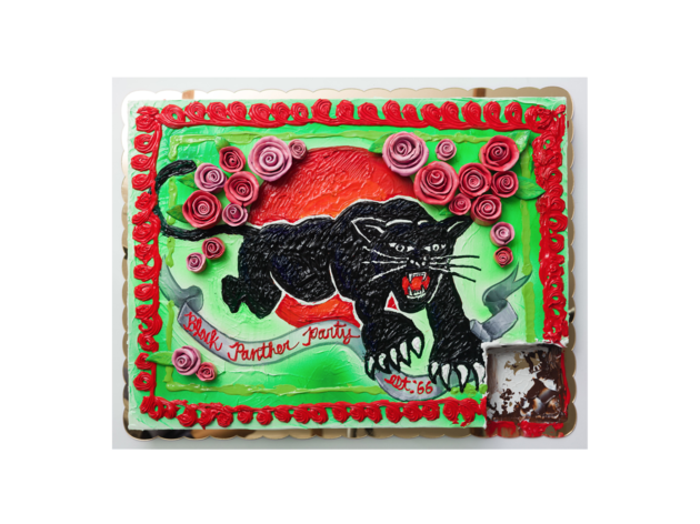 Patrick Martinez, Chocolate Cake For Black Panther Party, 2018