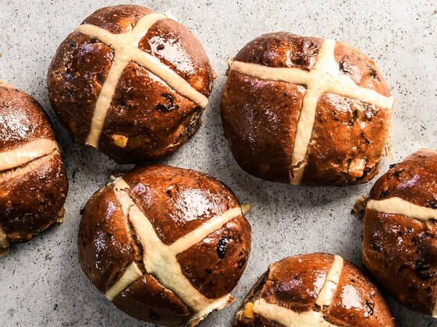 Bourke St Bakery Hot Cross Buns