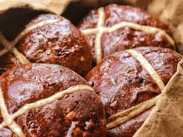 Bourke St Bakery Hot Cross Buns