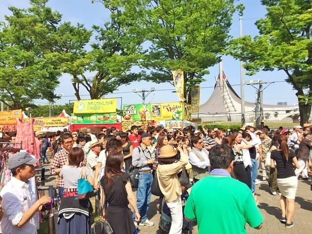 ワールドグルメ&ミュージックフェスタin代々木公園