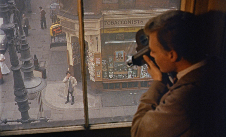 A still from the film 'Peeping Tom'