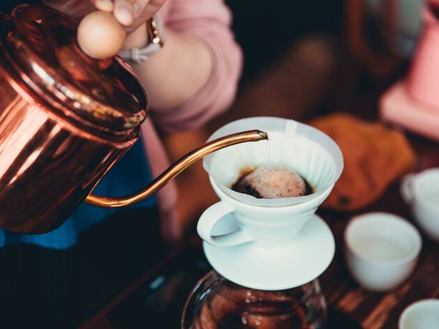 66% off a coffee-tasting experience with Fine and Rare Coffee