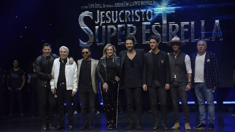 Jesucristo superestrellla elenco mexico 2019