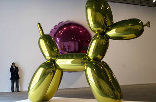 Jef Koons exposición de arte contemporáneo