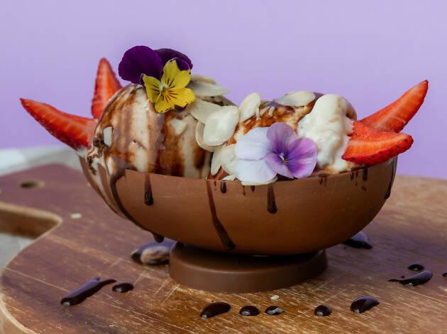Order this Easter egg sundae