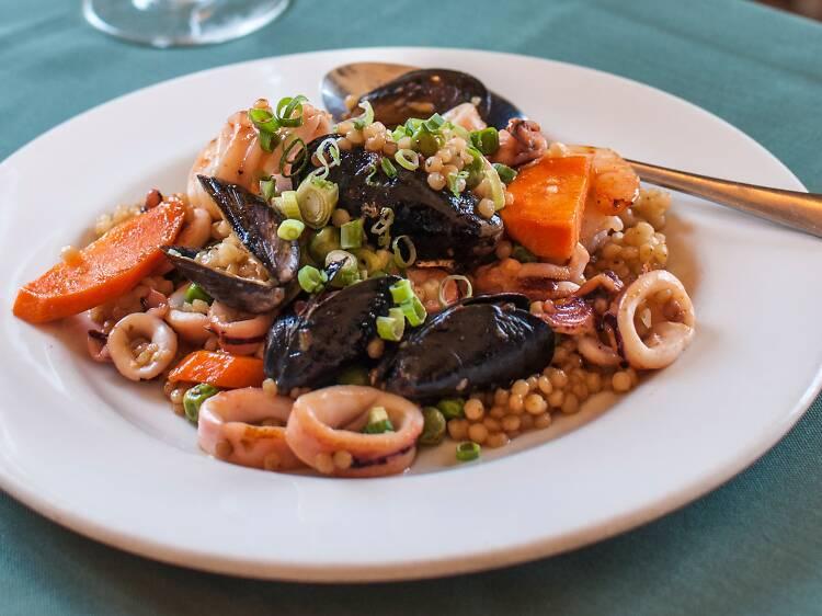THE SEAFOOD: Uri Buri