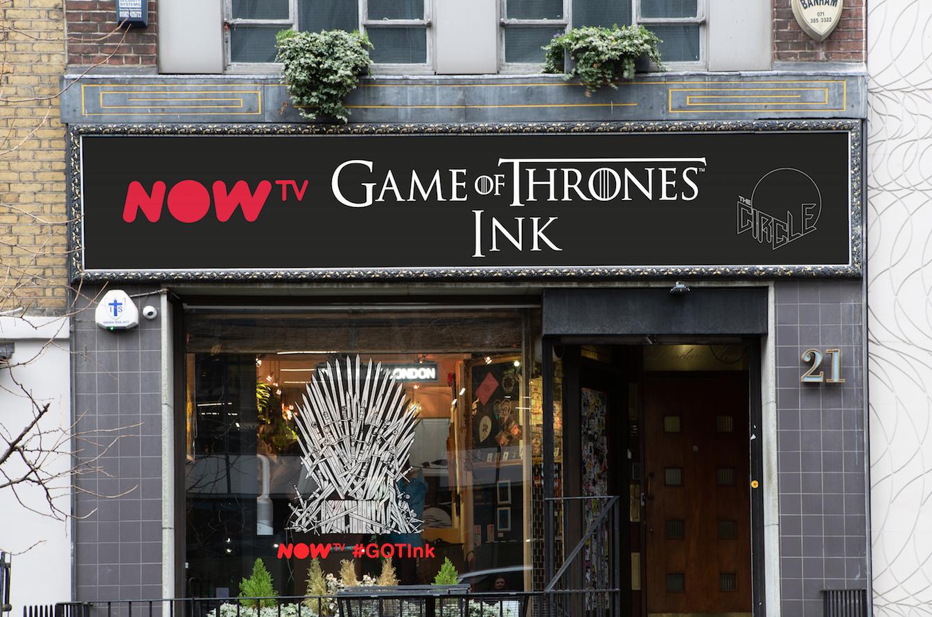 GoT Ink? 'Game of Thrones' Tattoo Studio