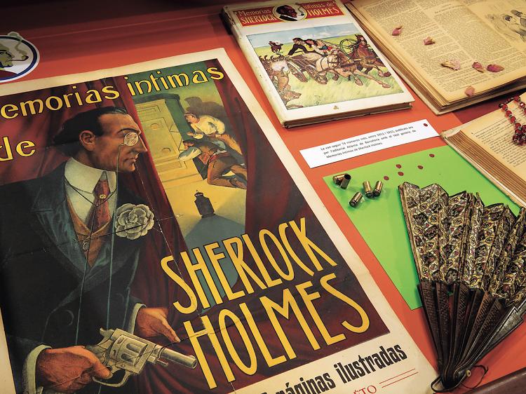 Colección Holmes en la Biblioteca Pública Arús