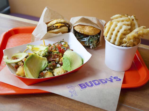 Buddy's restaurant in Downtown LA DTLA Los Angeles from the Bernadette's team