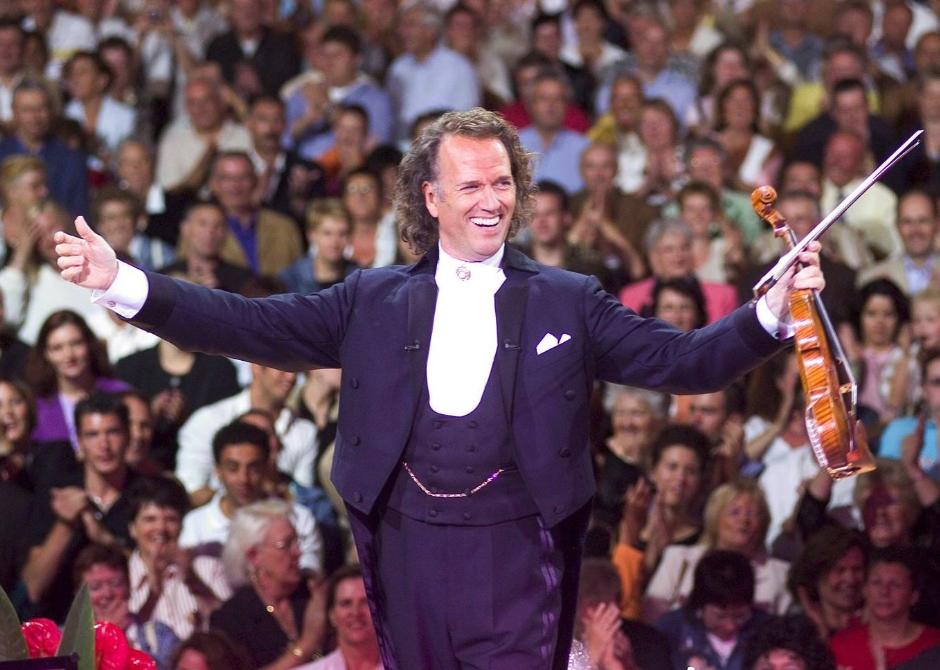 Concertos de André Rieu adiados para 2021