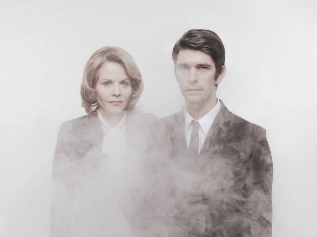 Renée Fleming and Ben Whishaw in fog