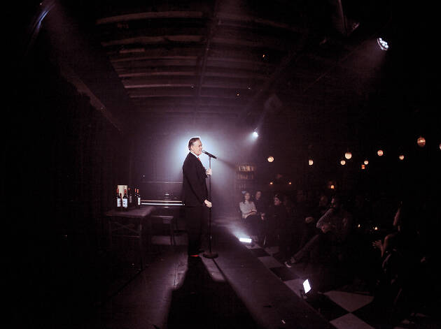Todd Robbins in Speakeasy Magick