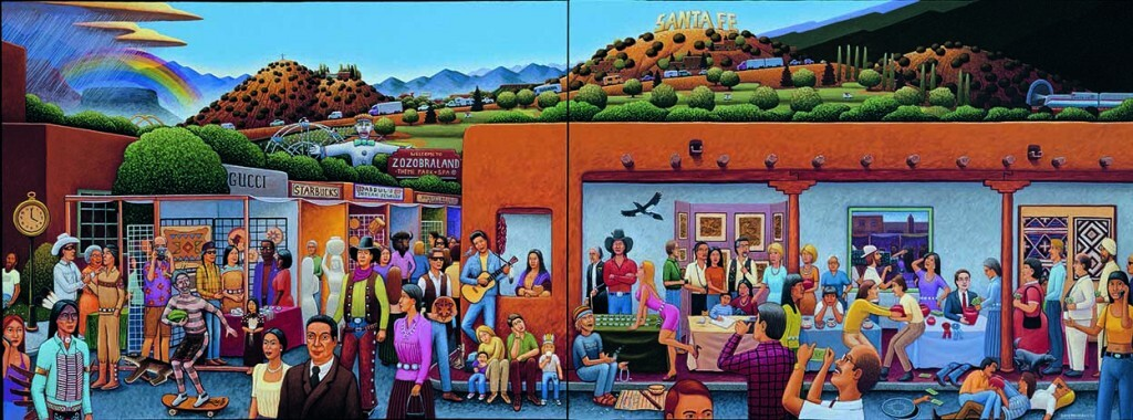 David Bradley, Santa Fe Indian Market, 2001