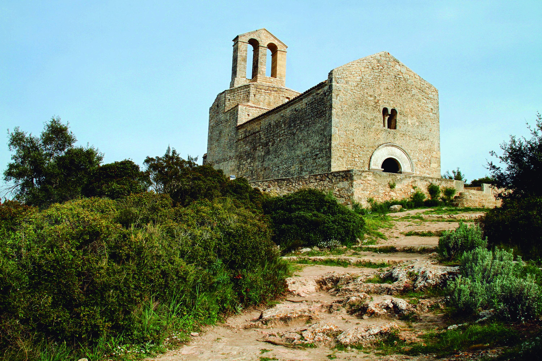 Església de Sant Miquel d'Olèrdola. Parc d'Olèrdola