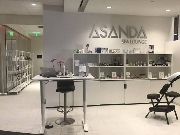 Asanda Spa Lounge at Delta Sky Club