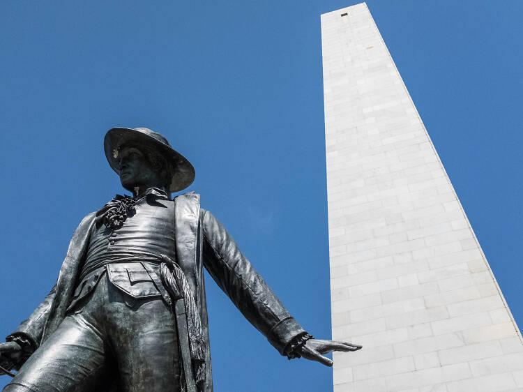 Climb Bunker Hill Monument