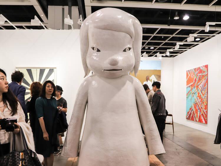 Yoshitomo Nara, White Riot, 2010