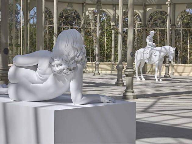 Así son las nuevas estatuas del Palacio de Cristal